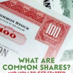 Regardless of where you are at in your investment journey, common shares can be an important part of your portfolio.