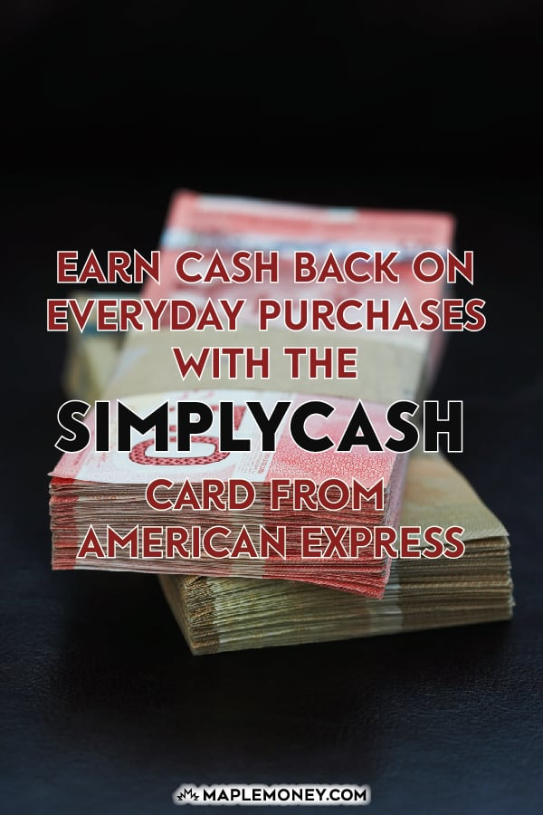 If you want a simpler credit card that is all about the cash back on everyday things, the SimplyCash Card from Amercian Express is a great choice.