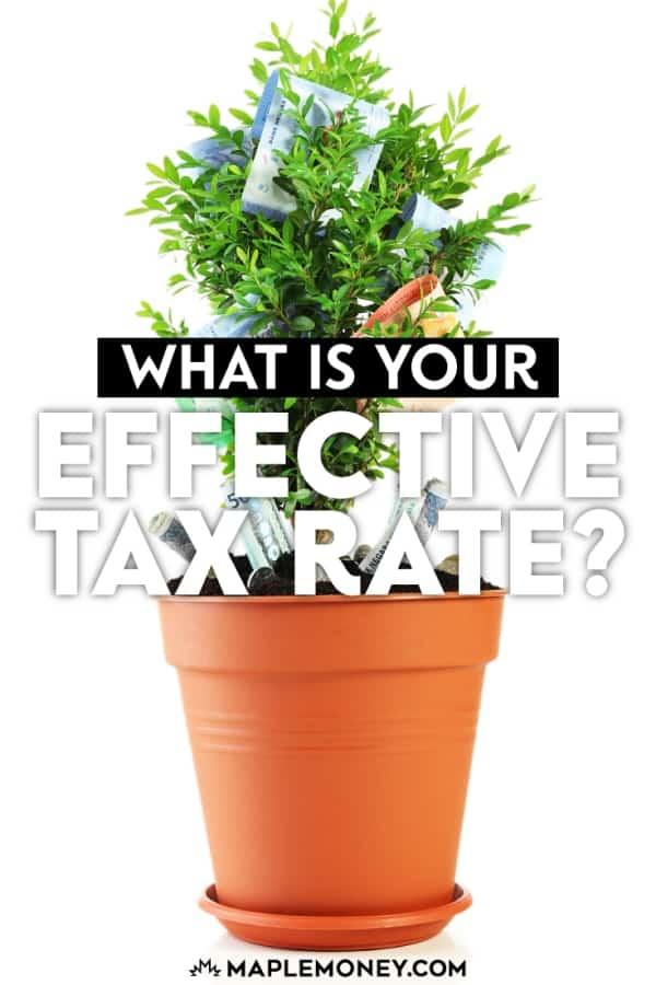 Jika Anda ingin mengetahui persentase dari penghasilan Anda Anda benar-benar membayar pajak, tanpa pajak yang berlaku tingkat Anda, daripada pajak marjinal tingkat Anda
