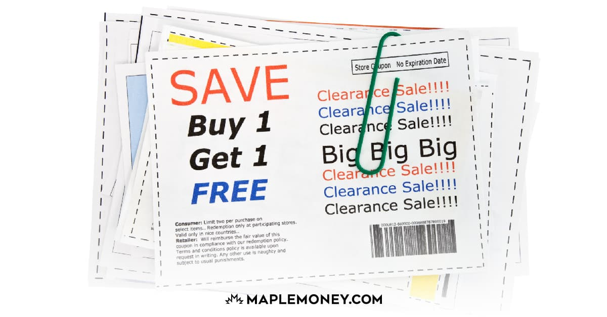 Where to Find Tear Pad Coupons in Canada