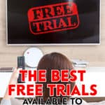 When searching for a new product or service, in addition to looking for free trials, check to see if there's a price discount when the free trial expires.