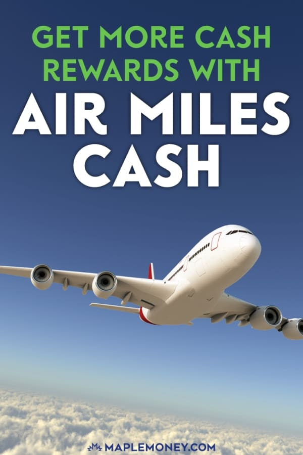 Air Miles Cash rewards offers you a chance to redeem your miles points for cash off every day purchases that you make at participating retailers.