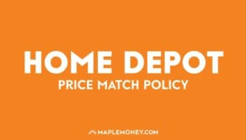 Home Depot Canada – Price Match Policy