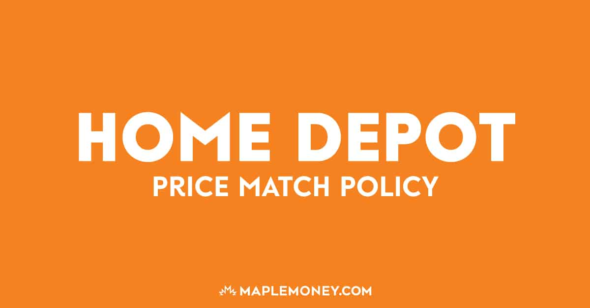 Here is the Home Depot Canada price match policy to help you generate more savings and make every hard earned penny worth it!