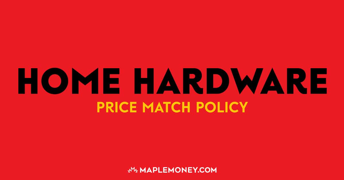 Here is the Home Hardware Canada price match policy to help you generate more savings and make every hard earned penny worth it!