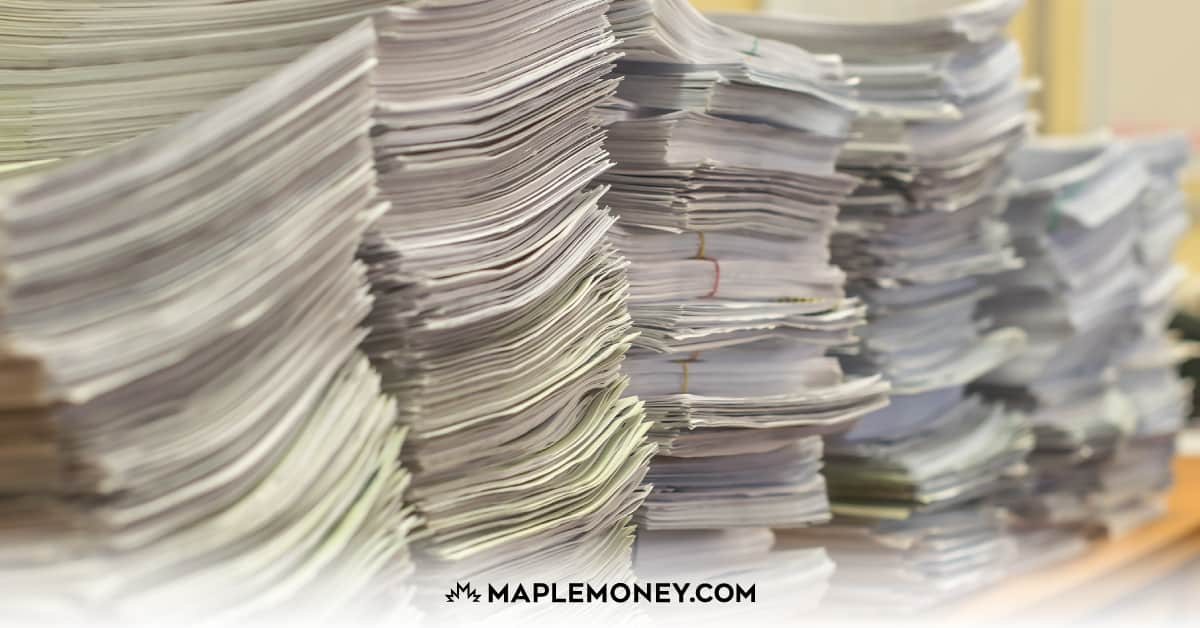 Is paper clutter taking over your home? Is it difficult to find important paperwork? Here's a list that you can use when dealing with all of the papers in your home.
