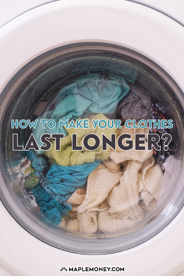 While it's nice to buy a shirt or a pair of pants at a great sale price, there is more money to be saved in making your clothes last longer.