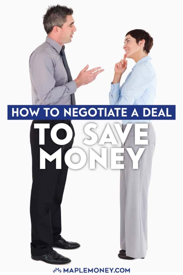 Negotiation is an important part of frugal living. Whether you are buying a car, appliance or TV, if you know how to negotiate you can likely pay less.