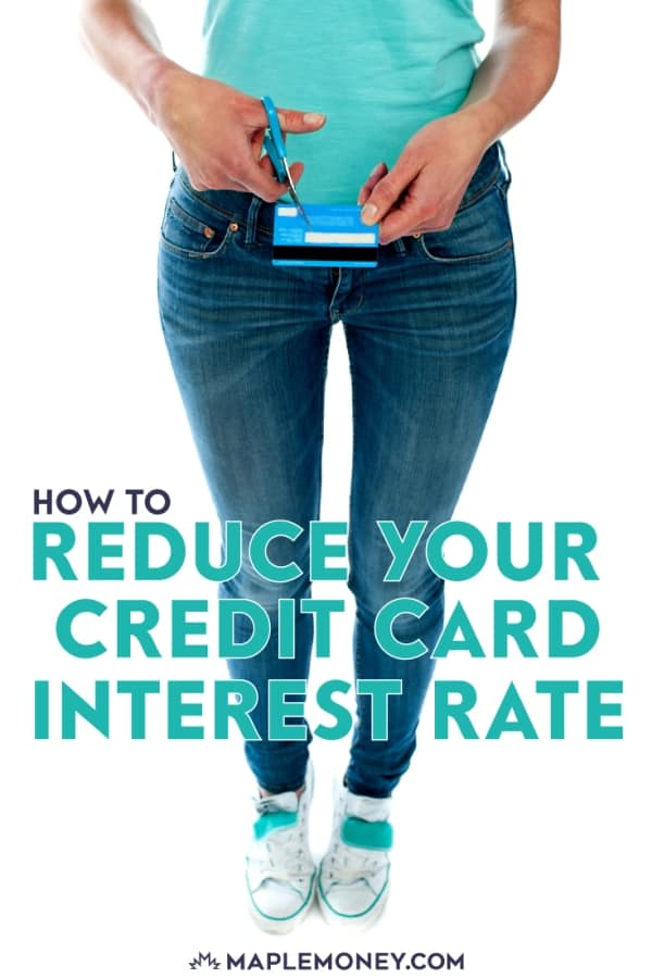 Is your credit card interest rate 18% or higher? It's possible for you to reduce your credit card interest rate, just by asking. Here's how to do it.