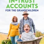 One of the best ways to highlight the concern over using in-trust accounts for kids or grandkids is to look at a story about John and his 4 grandchildren.