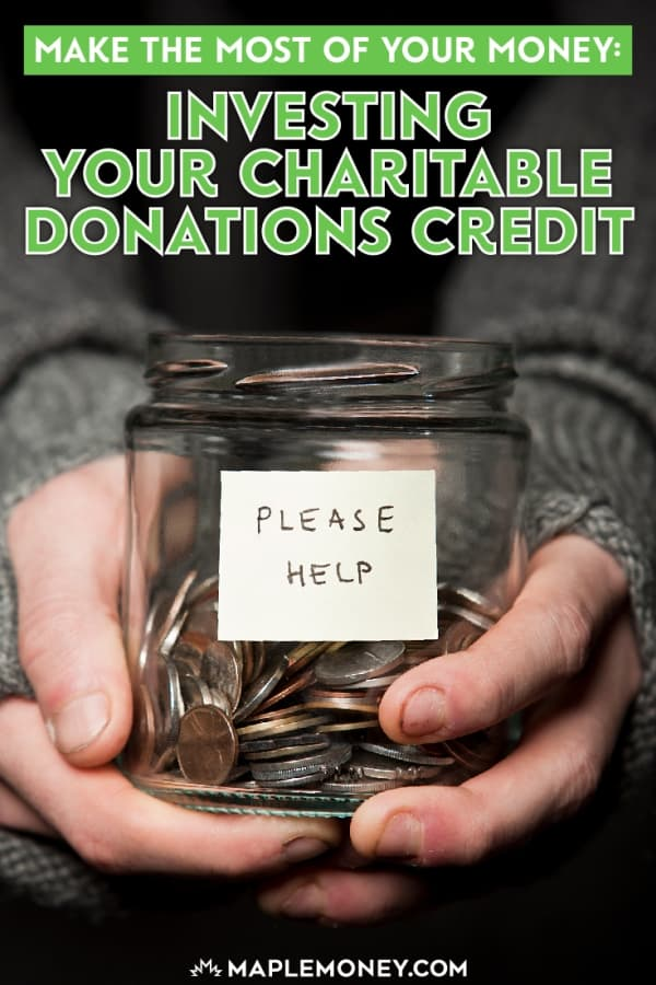 When you make charitable contributions, you receive a tax credit, but you could invest your charitable donations credit and reap further financial benefits.