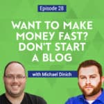 Michael Dinich from Your Money Geek shares his experience as a new blogger, entering a business where other bloggers sell courses promising internet riches.