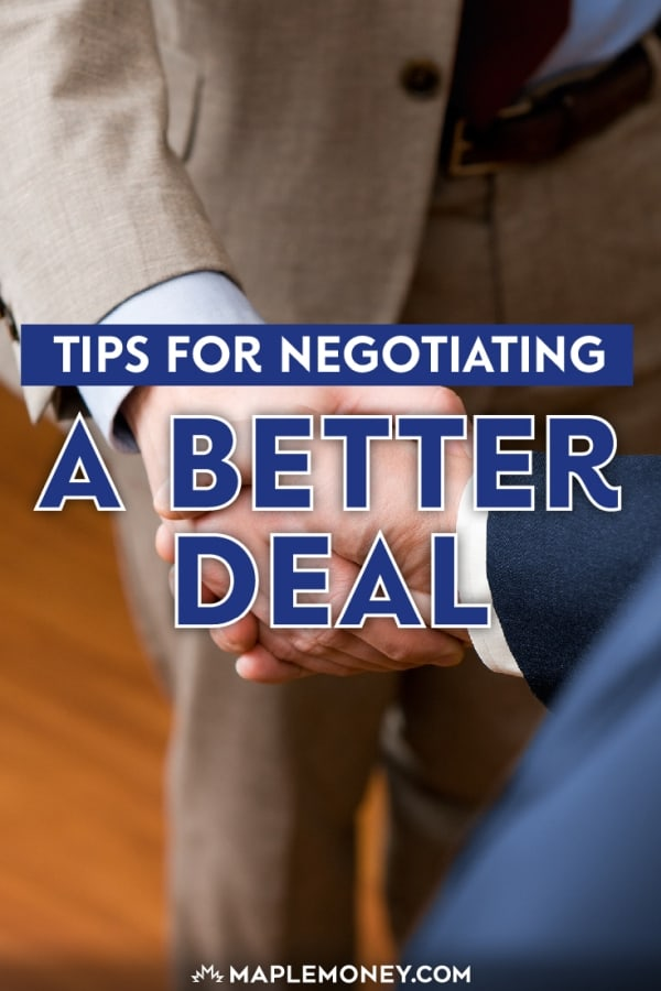 The trend toward frugality has resurrected negotiating a better deal. Here are a few tips to help you negotiate a good deal, no matter where you shop.