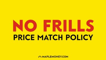 No Frills Canada – Price Match Policy