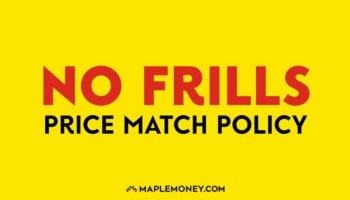 No Frills Canada – Price Match Policy