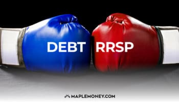 Pay Down Debt or Invest in RRSP?
