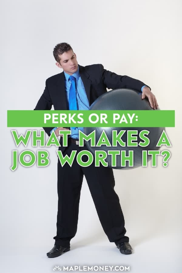 For some workers, money isn't everything. A company might offer any number of perks in addition to regular pay. What makes a job worth it? Perks or pay?