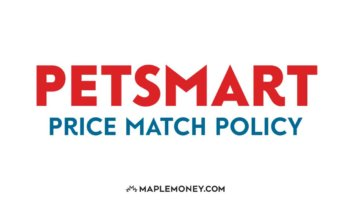 PetSmart Canada – Price Match Policy