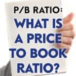 Price To Book Ratio, or P/B Ratio, compares the current market price of a stock and the book value of all the assets on a company's balance sheet.
