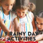 There are many rainy day activities that you can enjoy on a dreary day, this is just a small sampling.Don't let a rainy day get you down - do something fun!