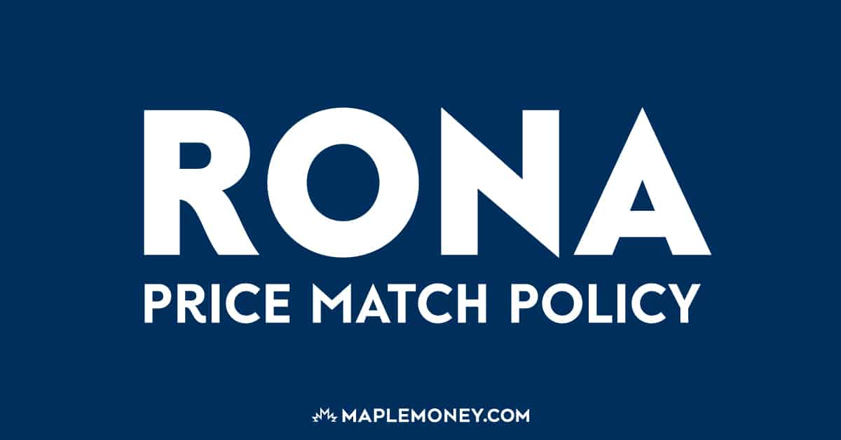 Rona Canada – Price Match Policy