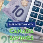 Canada Savings Bonds offer safe investing, but a low return. You can save for the future and earn a return through the purchase of Canada Savings Bonds.