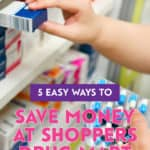 Start saving money by shopping at Shoppers Drug Mart and taking advantage of their rewards programs, sale periods and promotional events.