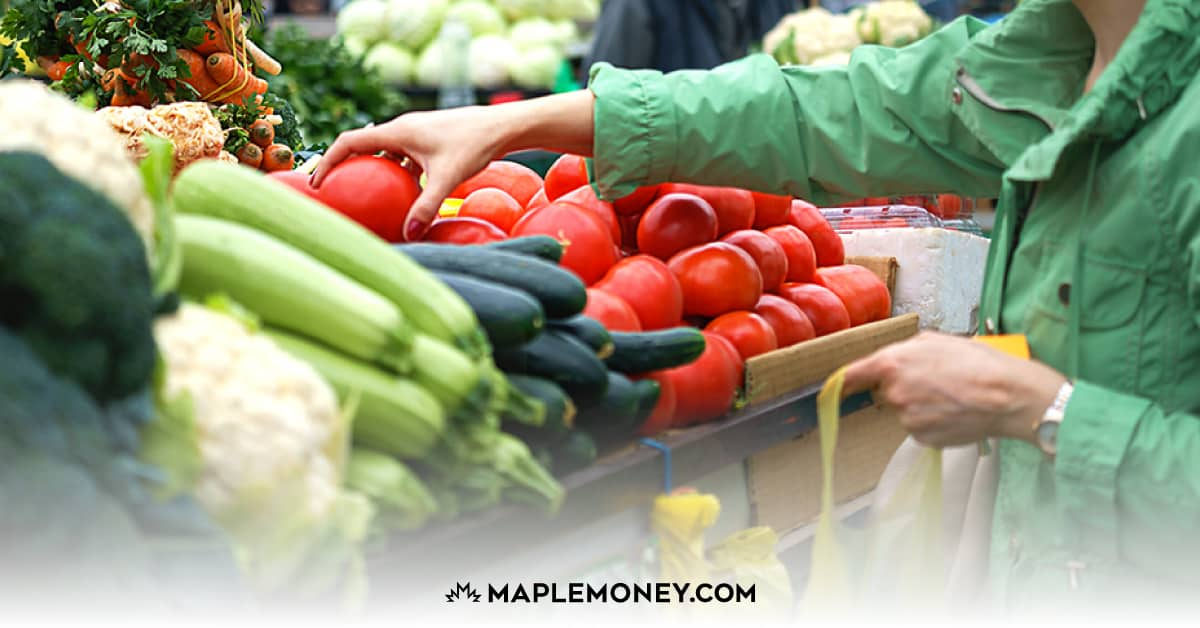 Saving money by going to a farmers market is the best and cheapest way to get organic food. You get guaranteed fresh fruit and vegetables for less cost.