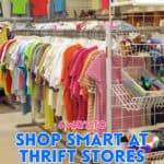 Buying at thrift stores can tremendously reduce your clothing budget. Turning around donating them (or selling them) to others is a budget-friendly way to live.