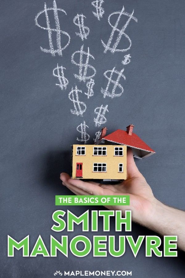 The Smith Manoeuvre is a strategy that Fraser Smith developed. The basic premise of the Smith Manoeuvre is to make your mortgage tax deductible. Here's how.