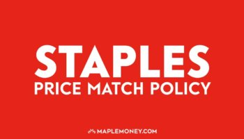 Staples Canada – Price Match Policy