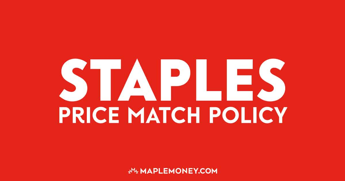 Here's the price match policy for Staples to help you with more effective price matching and allow you to generate more savings!