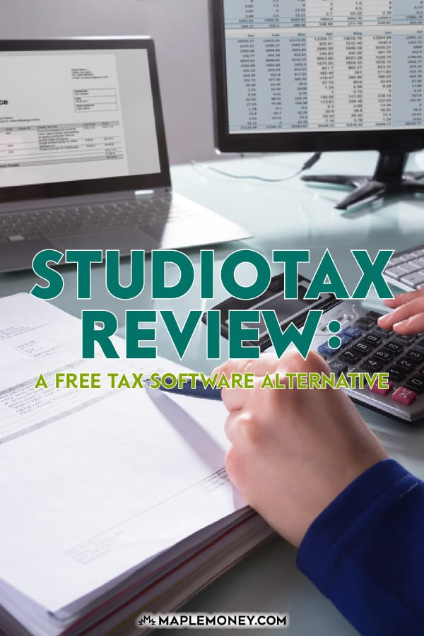StudioTax is a full featured program that's free to use. This StudioTax review found that StudioTax is a great free alternative to TurboTax and UFile.