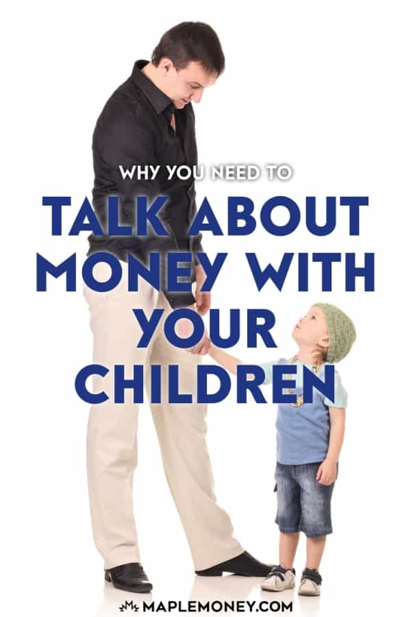 To teach your children about money, you need to engage them through conversation and model the lessons that you're teaching them.