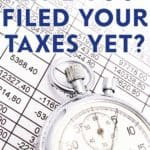 The tax deadline to file your return is May 5th. 40% of all the returns the CRA receives are filed in the final week. Are you one of these late filers?