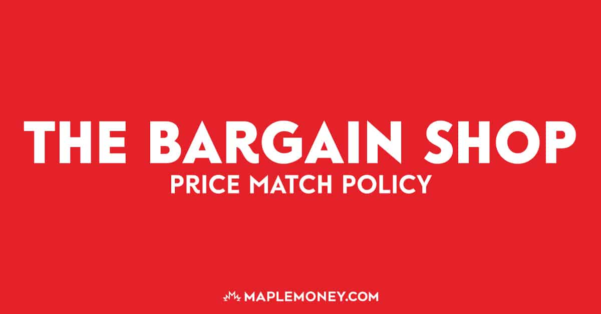The Bargain Shop – Price Match Policy