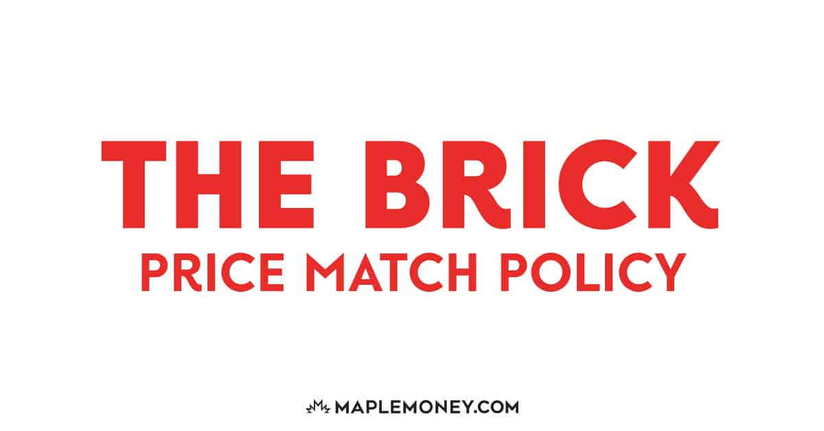 For all those who love shopping at the Brick Canada, get the most bang out of your buck with price matching. Here's their policy: