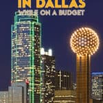 Based on my experience, here's a list of some of the things you can do in Dallas, sites through CityPASS, as well as a number of other Dallas attractions.