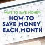 You probably know a few good ways to save money. Finding out how to save money each month is one of the best ways to make the most of your paycheque.